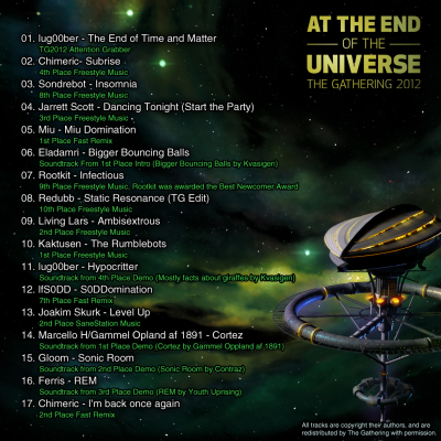 Click to view full size image  ==============  Music Disc At the end of the universe  Keywords: Musicdisc