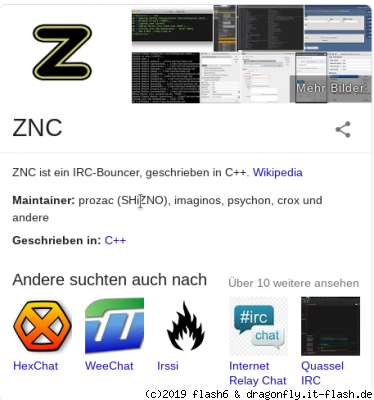 Click to view full size image  ==============  Keywords: Maintainer,ZNC